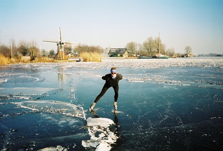 Ice skate 200km on the Hennepin Canal