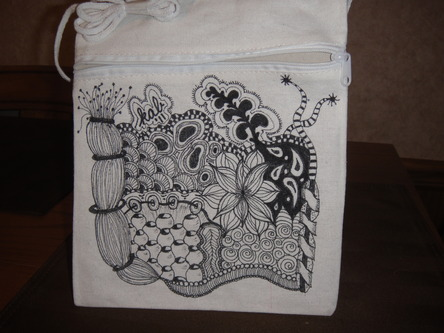 bag of tricks Zentangle