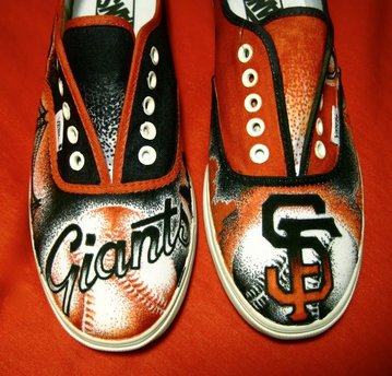 Custom Giants Vans