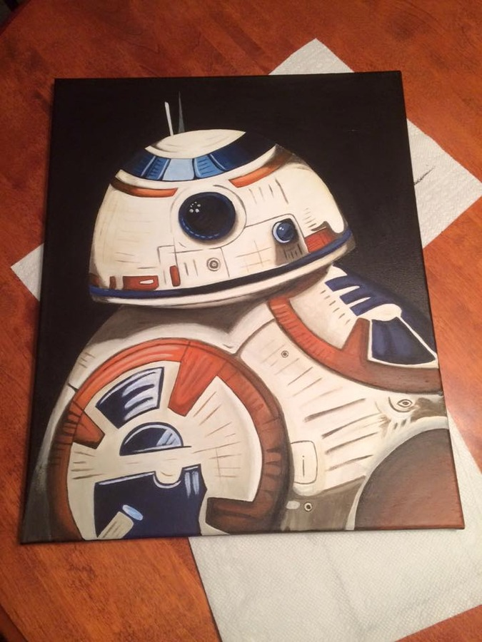 BB8 - Painting