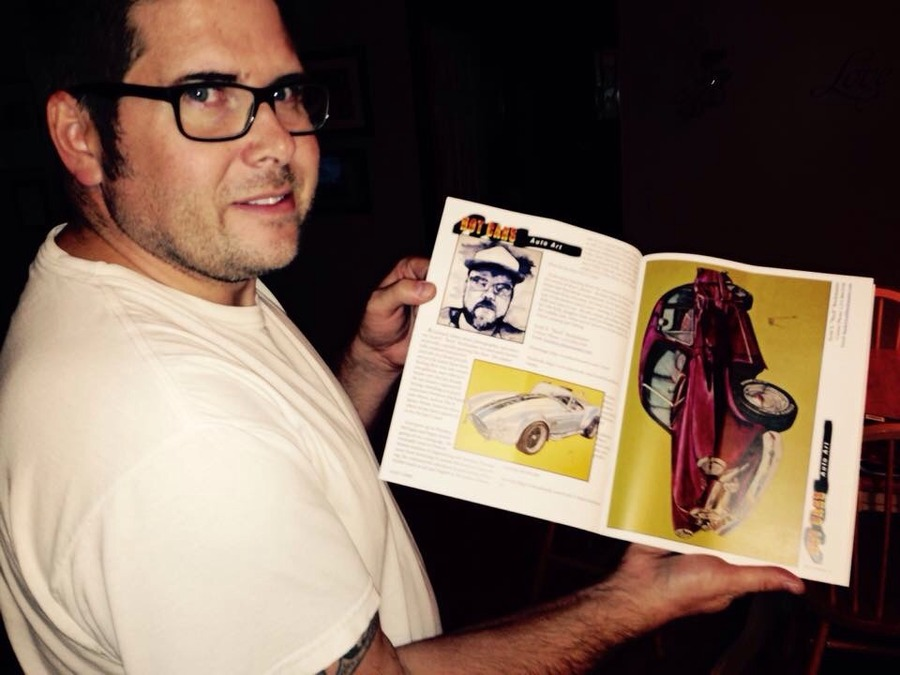 "Buck in ""Hot Cars Magazine"""