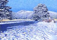 SNOWY BERGEN PEAK