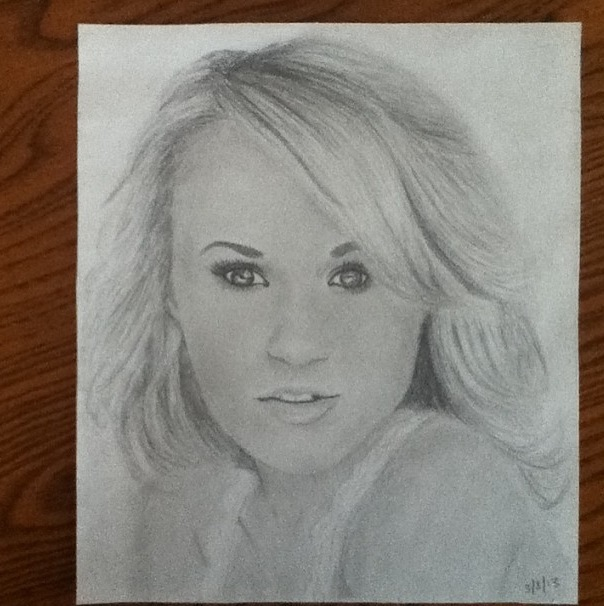 Carrie Underwood Portrait