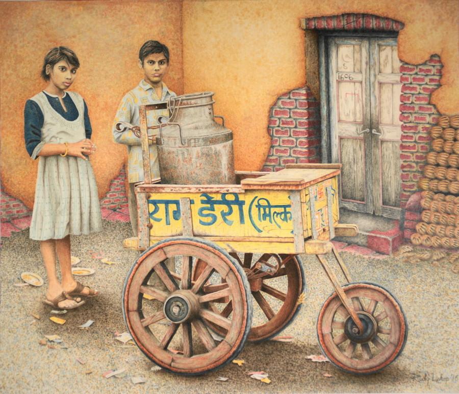 Milk Cart Agra