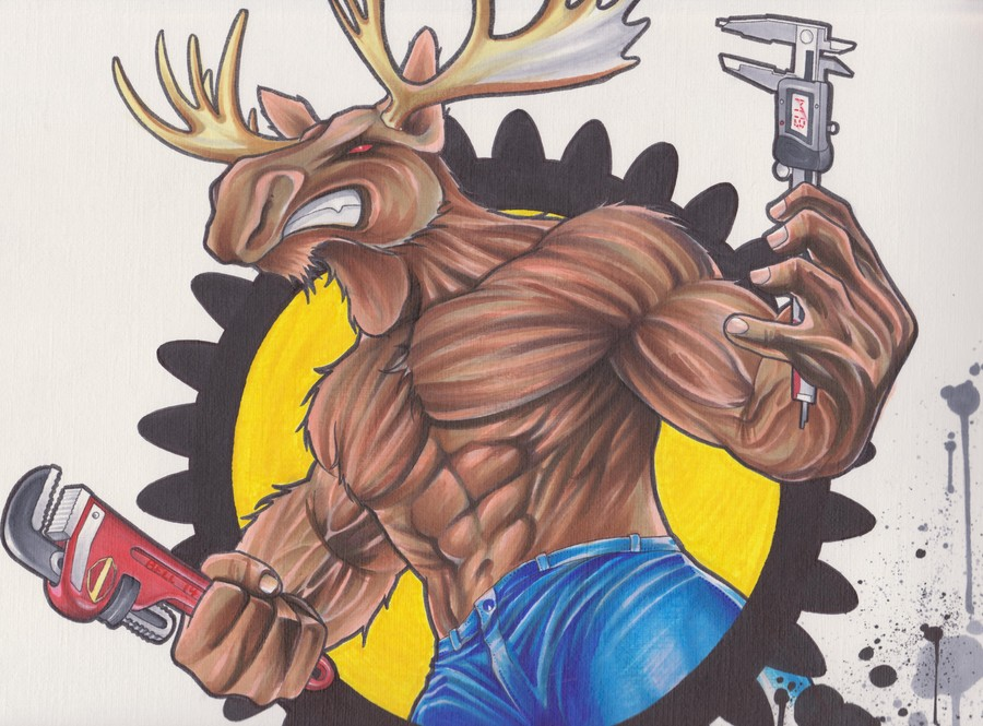 Moose Mechanical Logo