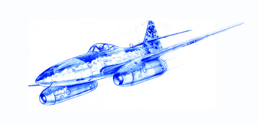 ME-262 Pencil Study