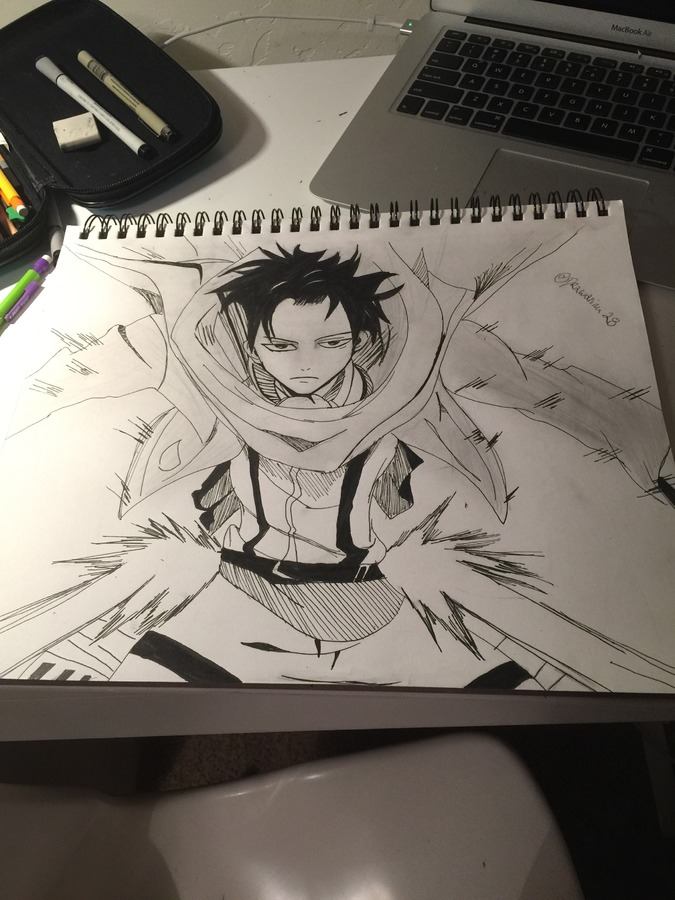 Levi Ackerman from Attack on Titans