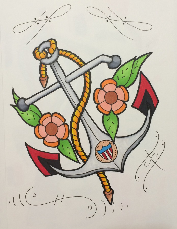 Anchor piece