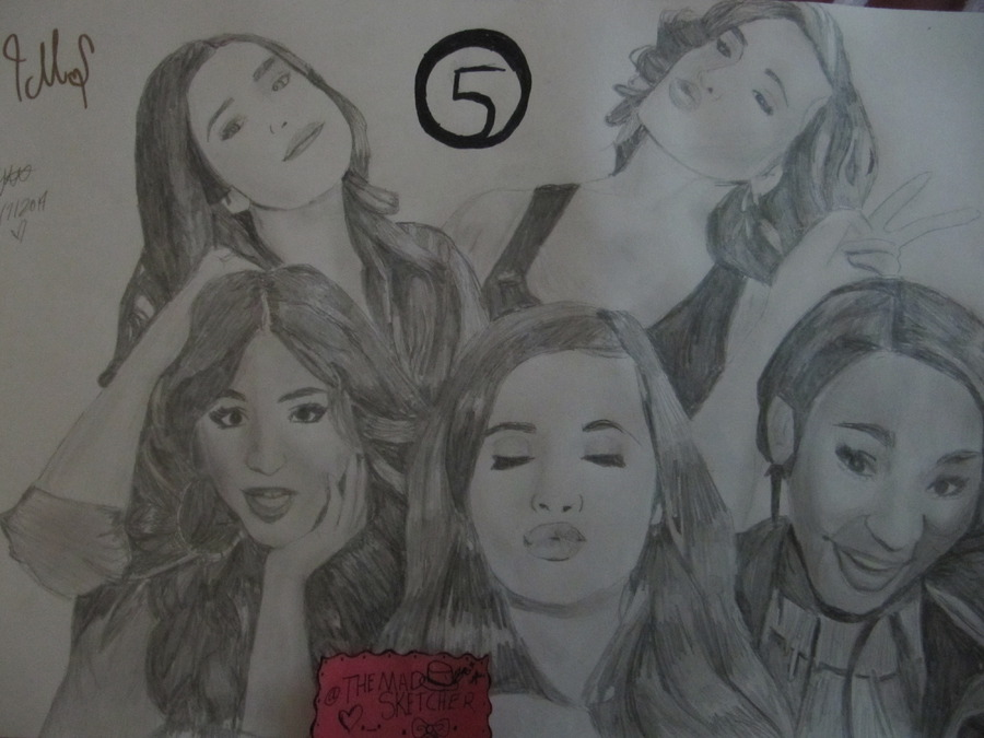 Fifth Harmony drawing