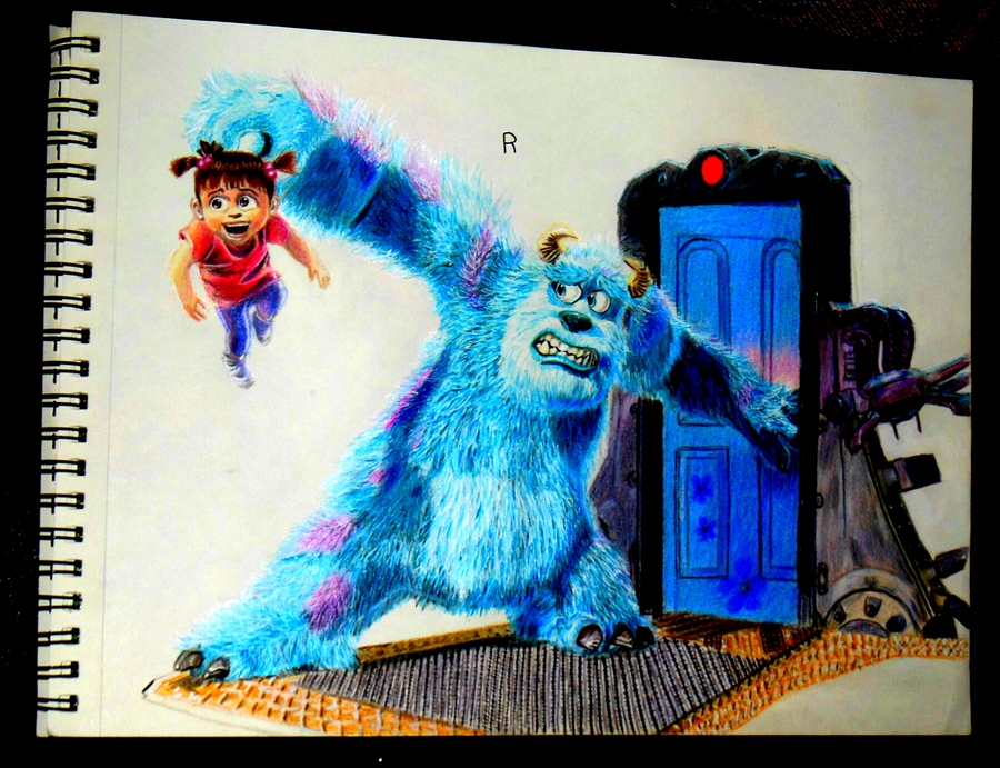 Boo and Sullyvan (Monsters Inc)