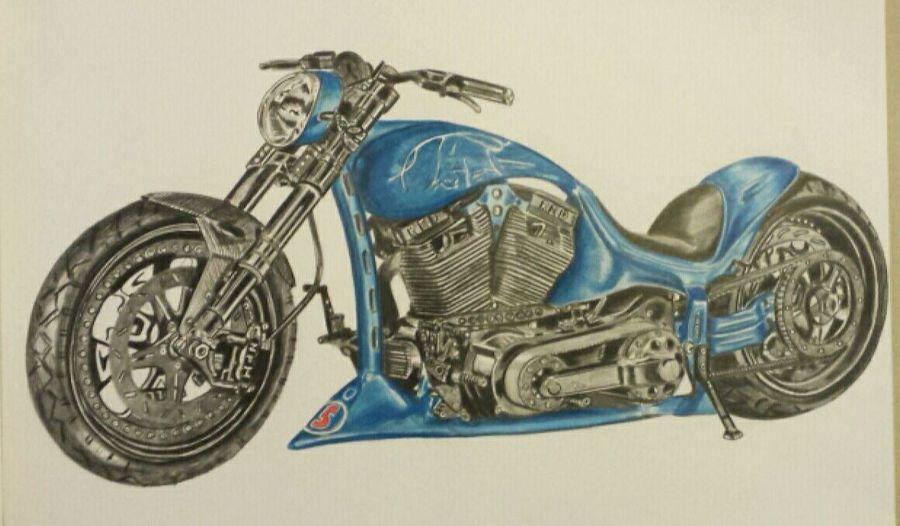 Blue custom