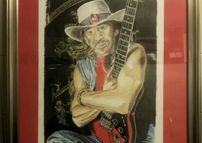 The late great stevie ray vaughn