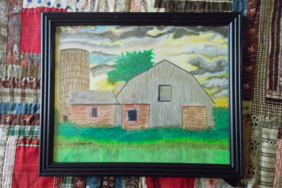 barn on farm