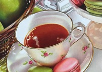 Tea Time with French Macarons