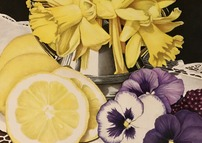 Daffodils and Pansies