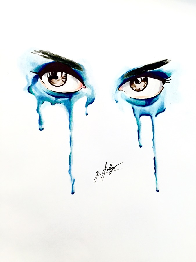 Dripping Eyes #2