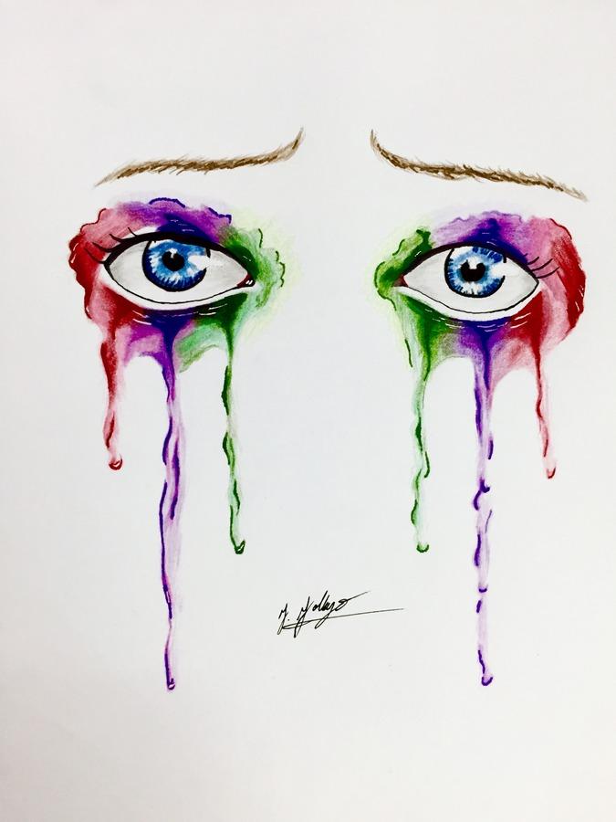 Dripping Eyes # 3
