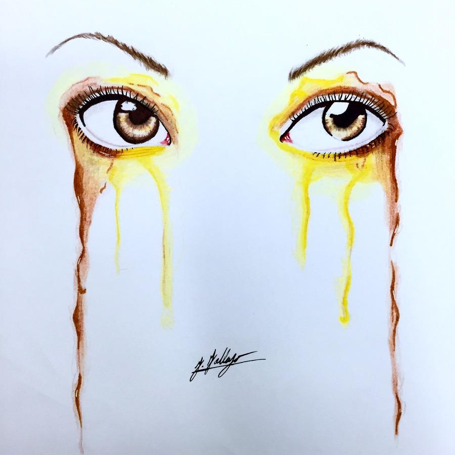 Dripping Eyes #4