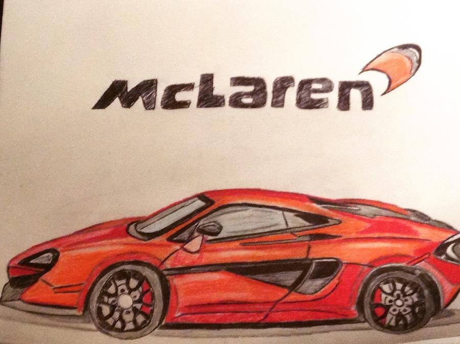 MClaren F1 drawing
