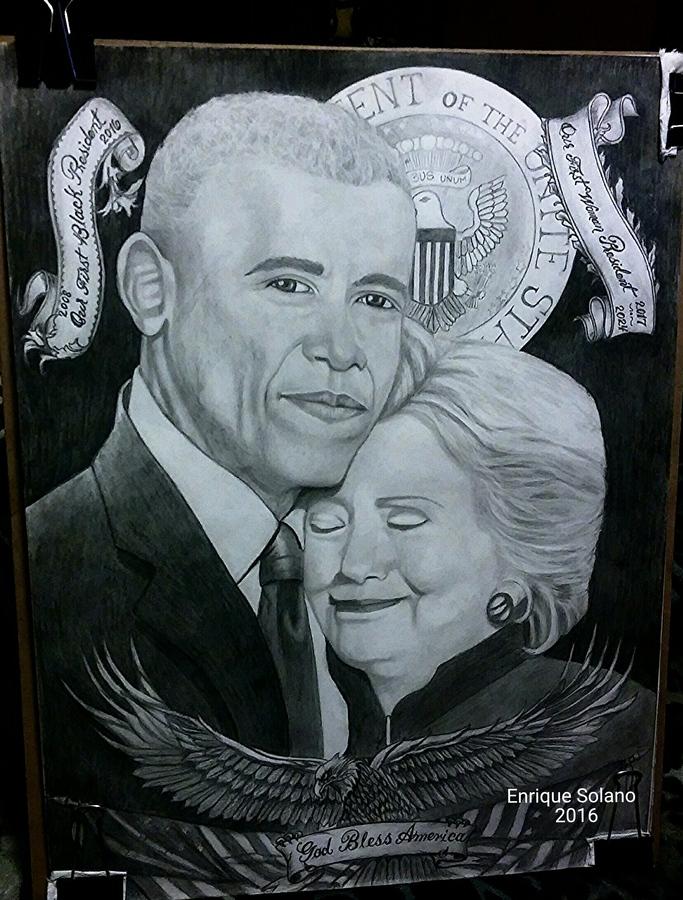 obama&Clinto n