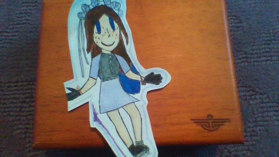 Evangeline the Ice Skater!